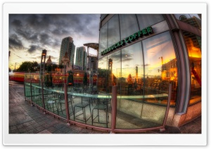 Starbucks Coffee Shop HD Wide Wallpaper for Widescreen