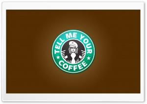 Starbucks Logo HD Wide Wallpaper for Widescreen