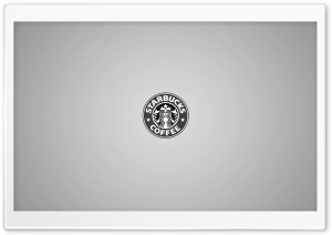 Starbucks Minimal HD Wide Wallpaper for Widescreen