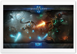 StarCraft II HD Wide Wallpaper for Widescreen