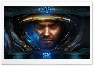StarCraft II: Wings of Liberty HD Wide Wallpaper for Widescreen