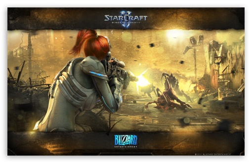 StarCraft II Wings Of Liberty HD wallpaper for Wide 16:10 5:3 Widescreen WHXGA WQXGA WUXGA WXGA WGA ; Standard 3:2 Fullscreen DVGA HVGA HQVGA devices ( Apple PowerBook G4 iPhone 4 3G 3GS iPod Touch ) ; Mobile 5:3 3:2 - WGA DVGA HVGA HQVGA devices ( Apple PowerBook G4 iPhone 4 3G 3GS iPod Touch ) ;