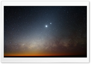 Stars In The Sky HD Wide Wallpaper for Widescreen