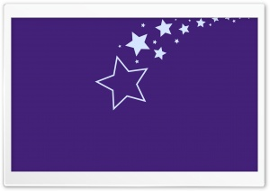 Stars Purple Background HD Wide Wallpaper for Widescreen