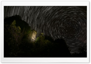 Startrails HD Wide Wallpaper for Widescreen