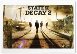 State Of Decay 2 2018 HD Wide Wallpaper for Widescreen