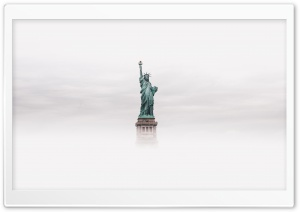 Statue Of Liberty HD Wide Wallpaper for 4K UHD Widescreen desktop & smartphone