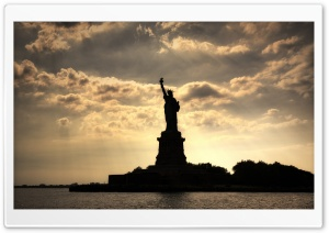 Statue of Liberty, United States HD Wide Wallpaper for 4K UHD Widescreen desktop & smartphone