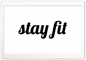 stay fit Ultra HD Wallpaper for 4K UHD Widescreen desktop, tablet & smartphone