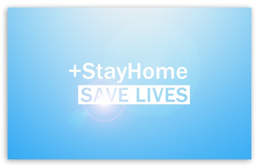 stay home save lives wallpapers