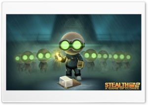Stealth Inc. 2 A Game of Clones Nightlight HD Wide Wallpaper for Widescreen
