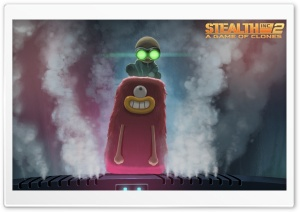 Stealth Inc. 2 A Game of Clones Nightlight Inflate HD Wide Wallpaper for Widescreen