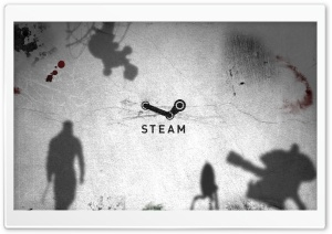 Steam logo HD Wide Wallpaper for 4K UHD Widescreen desktop & smartphone