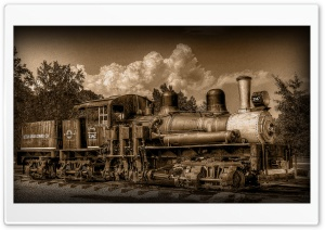 Steam Train HD Wide Wallpaper for Widescreen