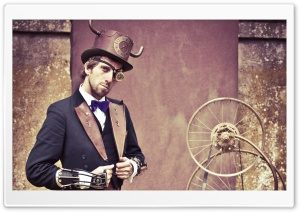 Steampunk Fashion Men HD Wide Wallpaper for Widescreen