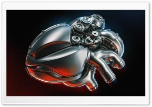 Steel Heart Ultra HD Wallpaper for 4K UHD Widescreen desktop, tablet & smartphone