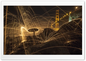Steel Wool Photography HD Wide Wallpaper for Widescreen