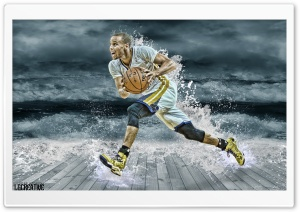 Stephen Curry Splash Ultra HD Wallpaper for 4K UHD Widescreen desktop, tablet & smartphone