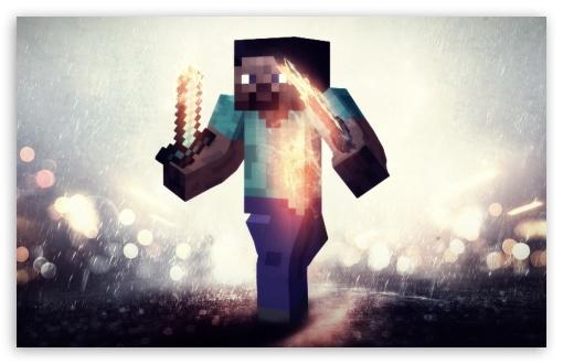 Steve Minecraft 4k Hd Desktop Wallpaper For 4k Ultra Hd