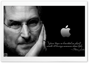 Steve Jobs HD Wide Wallpaper for 4K UHD Widescreen desktop & smartphone