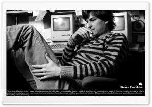 Steve Jobs HD Wide Wallpaper for Widescreen