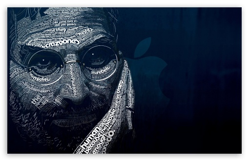 Download Steve Jobs Art UltraHD Wallpaper