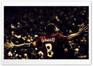 Steven Gerrard Football HD Wide Wallpaper for Widescreen