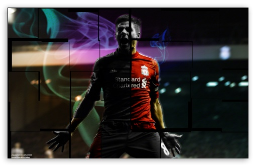 Steven Gerrard Wallpaper 1 HD wallpaper for Wide 16:10 5:3 Widescreen WHXGA WQXGA WUXGA WXGA WGA ; Tablet 1:1 ; Mobile 5:3 - WGA ;