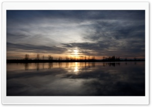 Steveston Sunset HD Wide Wallpaper for Widescreen