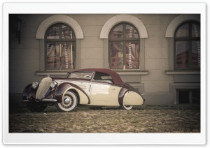 Steyr 220 Glaser Roadster HD Wide Wallpaper for Widescreen