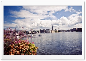 Stockholm, August HD Wide Wallpaper for Widescreen