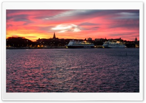 Stockholm Cruises HD Wide Wallpaper for 4K UHD Widescreen desktop & smartphone