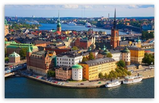 Stockholm, Sweden, Europe HD wallpaper for Wide 16:10 5:3 Widescreen WHXGA WQXGA WUXGA WXGA WGA ; HD 16:9 High Definition WQHD QWXGA 1080p 900p 720p QHD nHD ; Mobile 5:3 16:9 - WGA WQHD QWXGA 1080p 900p 720p QHD nHD ;
