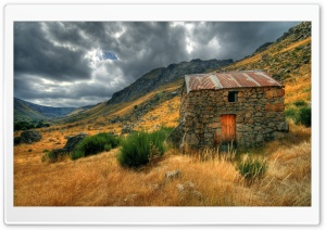 Stone House HD Wide Wallpaper for Widescreen