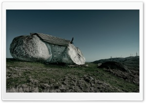 Stone House, Fafe Mountains, Portugal HD Wide Wallpaper for Widescreen