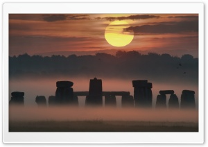 Stonehenge HD Wide Wallpaper for Widescreen