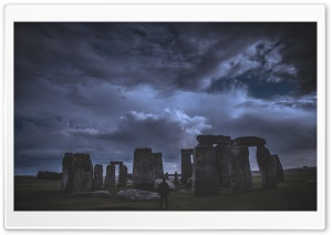 Stonehenge, Wiltshire, England HD Wide Wallpaper for 4K UHD Widescreen desktop & smartphone