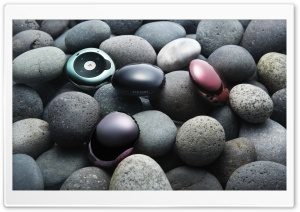 Stones And Samsung Gadgets HD Wide Wallpaper for Widescreen
