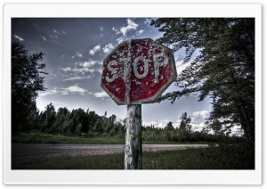 Stop HD Wide Wallpaper for Widescreen