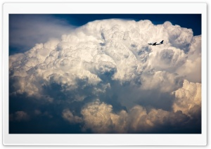 Storm Cloud, Airbus HD Wide Wallpaper for Widescreen