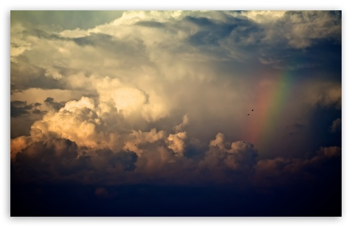 Storm Clouds And Rainbow HD wallpaper for Standard 4:3 5:4 Fullscreen UXGA XGA SVGA QSXGA SXGA ; Wide 16:10 5:3 Widescreen WHXGA WQXGA WUXGA WXGA WGA ; HD 16:9 High Definition WQHD QWXGA 1080p 900p 720p QHD nHD ; Other 3:2 DVGA HVGA HQVGA devices ( Apple PowerBook G4 iPhone 4 3G 3GS iPod Touch ) ; Mobile VGA WVGA iPhone iPad PSP Phone - VGA QVGA Smartphone ( PocketPC GPS iPod Zune BlackBerry HTC Samsung LG Nokia Eten Asus ) WVGA WQVGA Smartphone ( HTC Samsung Sony Ericsson LG Vertu MIO ) HVGA Smartphone ( Apple iPhone iPod BlackBerry HTC Samsung Nokia ) Sony PSP Zune HD Zen ; Tablet 2 Android 3 DVGA HVGA HQVGA devices ( Apple PowerBook G4 iPhone 4 3G 3GS iPod Touch ) ;