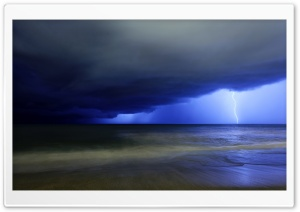 Storm On The Sea HD Wide Wallpaper for Widescreen