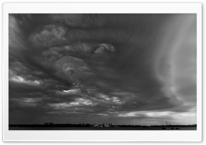 Storm Over Kotka HD Wide Wallpaper for Widescreen