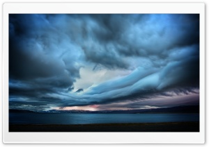 Storm Over Paradise HD Wide Wallpaper for Widescreen