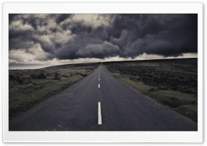 Storm Road HD Wide Wallpaper for Widescreen