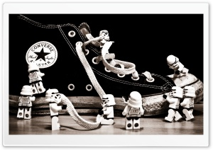 StormTrooper Converse Ultra HD Wallpaper for 4K UHD Widescreen desktop, tablet & smartphone