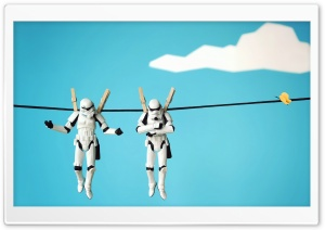 Stormtrooper Funny HD Wide Wallpaper for Widescreen