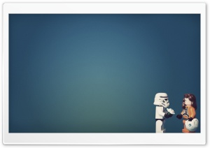 Stormtrooper In Love HD Wide Wallpaper for Widescreen