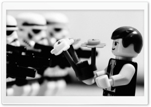 Stormtrooper Lego HD Wide Wallpaper for Widescreen