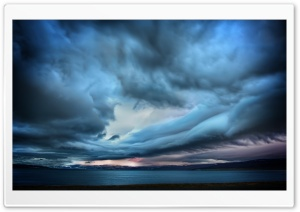 Stormy Clouds HD Wide Wallpaper for 4K UHD Widescreen desktop & smartphone